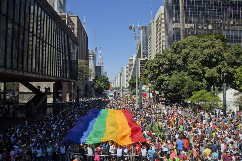 BRAZIL GAY PRIDE PARADE
