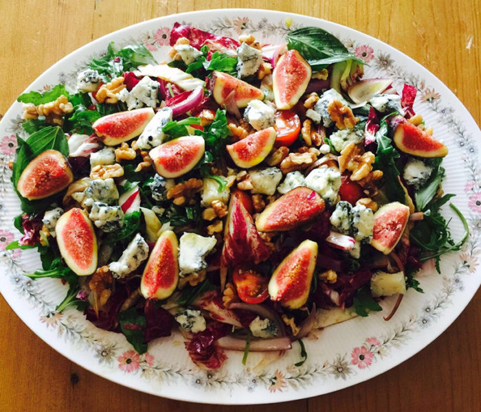 Twins Take On… Alberti's Figtastic Seductive Salad