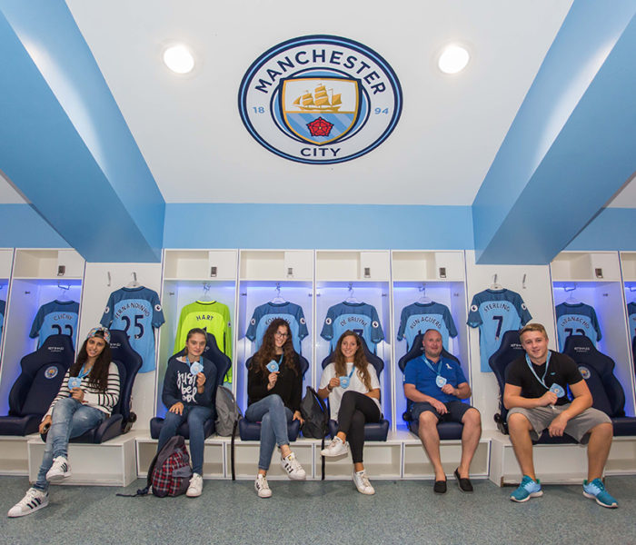 MANCHESTER CITY'S TREAT WITH A  HALLOWEEN SPOOKTACULAR STADIUM AND CLUB TOUR!