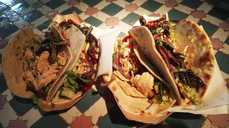 Free Chicken tacos