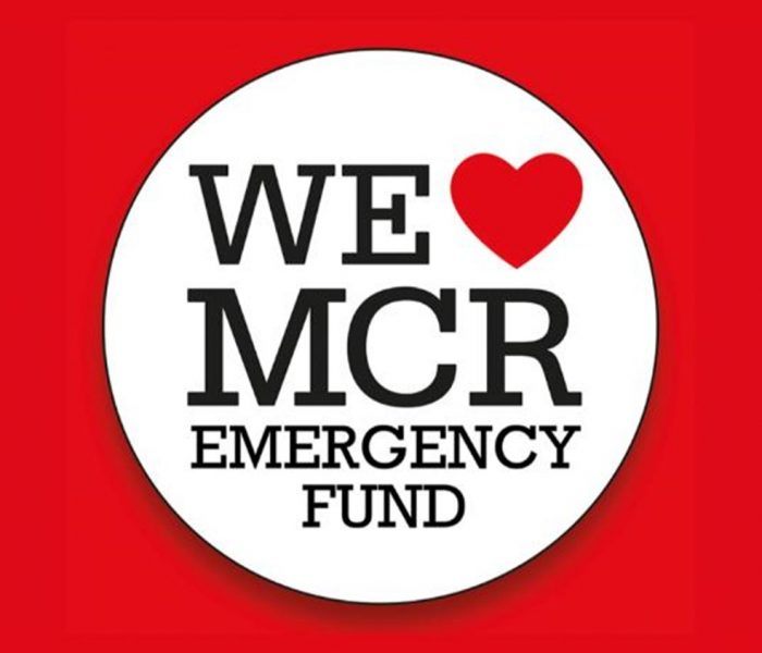 Carl Lavia's hand- drawn map of Manchester is being sold via auction to raise funds for the We Love Manchester Emergency Fund.