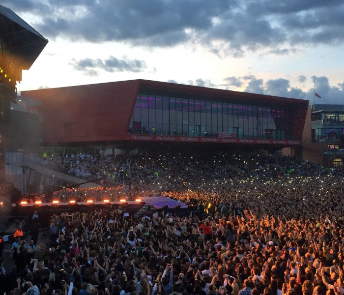 We Stood Together for One Love Manchester