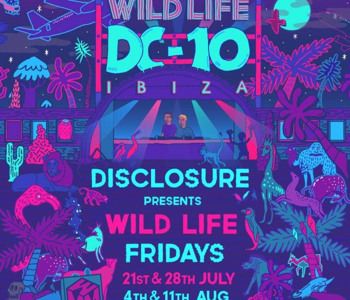Disclosure presents WILD LIFE at DC-10
