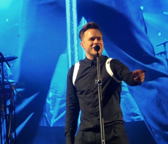 REVIEW: Olly Murs was 'Singin' In The Rain' at Haydock Park Racecourse