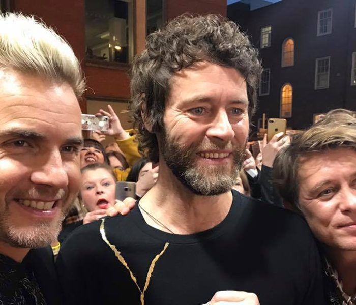 Take That reunite with Lulu to kick start their new musical The Band
