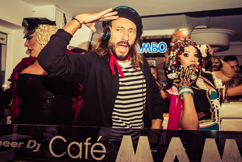 Bob Sinclar at Cafe Mambo