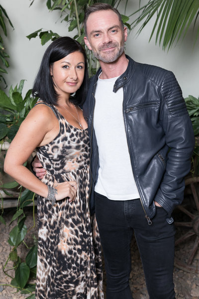 Hayley Tamaddon and Daniel Brocklebank at the Botanist in Media City.