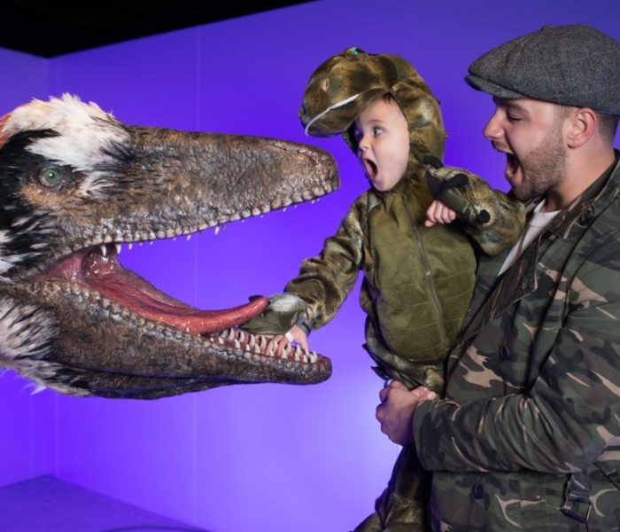 Dinosaurs in the Wild roars into Event City Manchester – and kids love it!