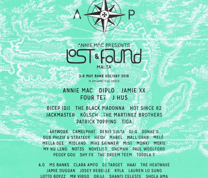 Jamie xx, Bicep and Denis Sulta announced for AMP Lost & Found Festival 2018