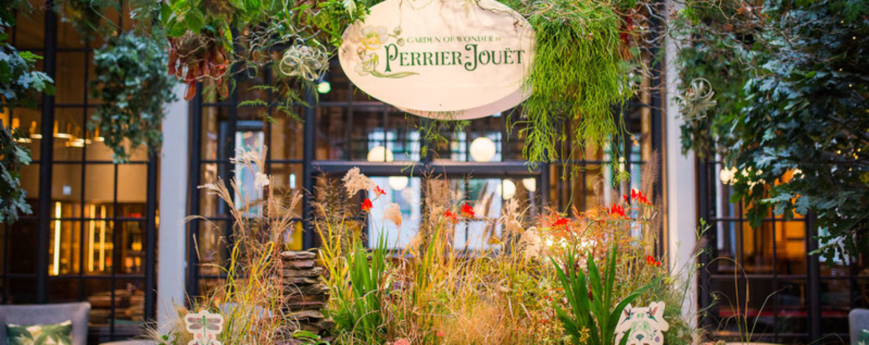 Perrier-Jouet Brings Nature To Life In A New Interactive Garden Of Wonder At The Refuge
