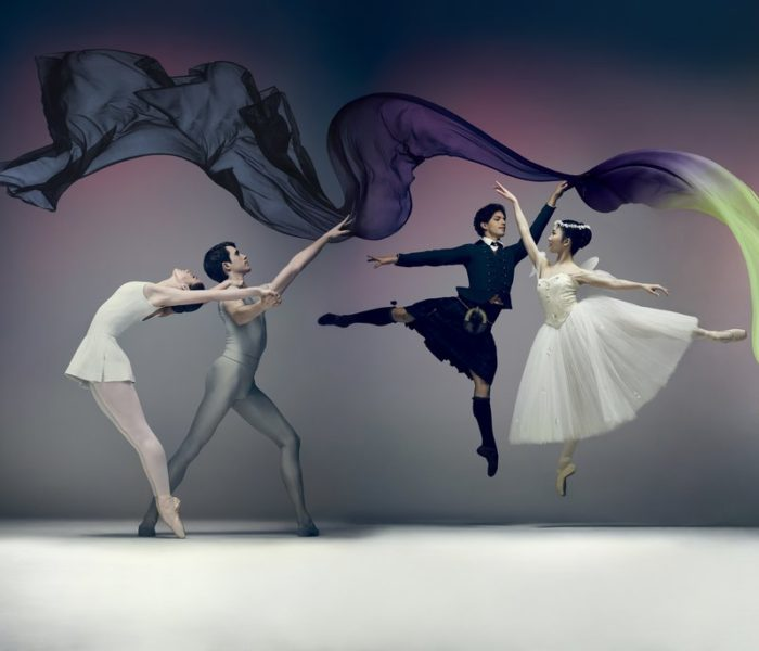 English National Ballet Presents Song Of The Earth / La Sylphide At The Palace Theatre, Manchester