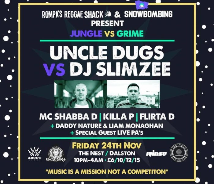 Rompa's Reggae Shack x Snowbombing 2018 Warm Up Party