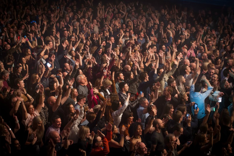 Hacienda Classical crowd. Photo by Craige Barker.