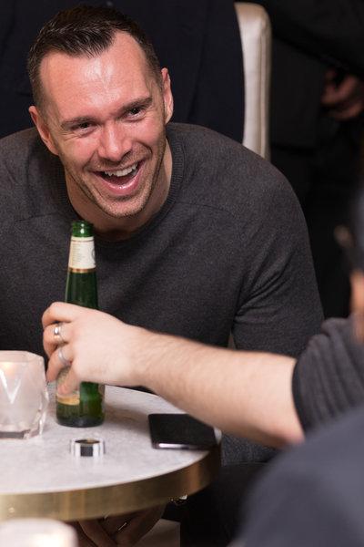 Viva magazine's Sam Bramwell at the launch of Dirty Martini in Manchester. Photo: Carl Sukonik / The Vain