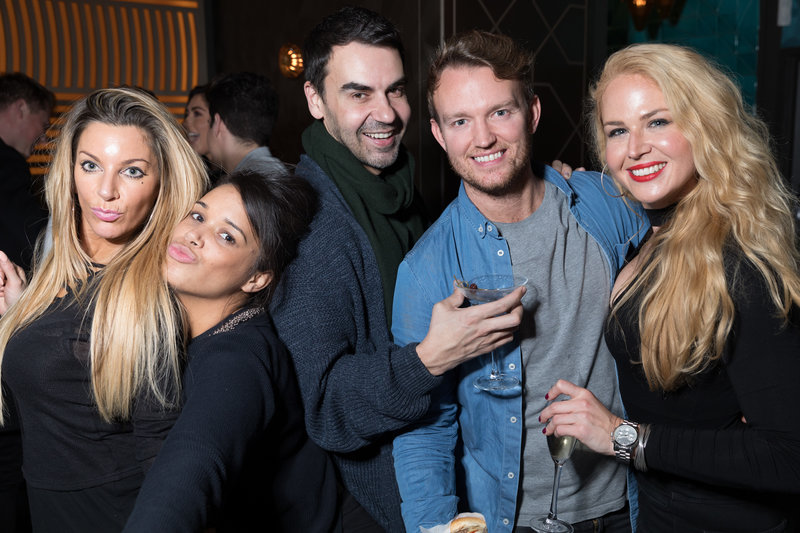 Dirty Martini launch party. Photo by Carl Sukonik/TheVain.