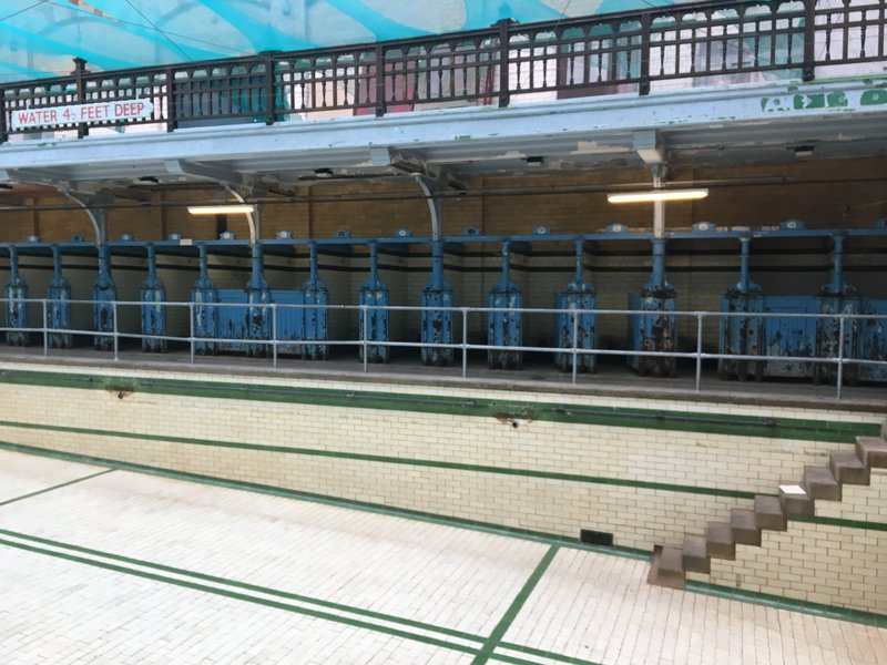 The females swimming pool at Victoria Baths in Manchester.