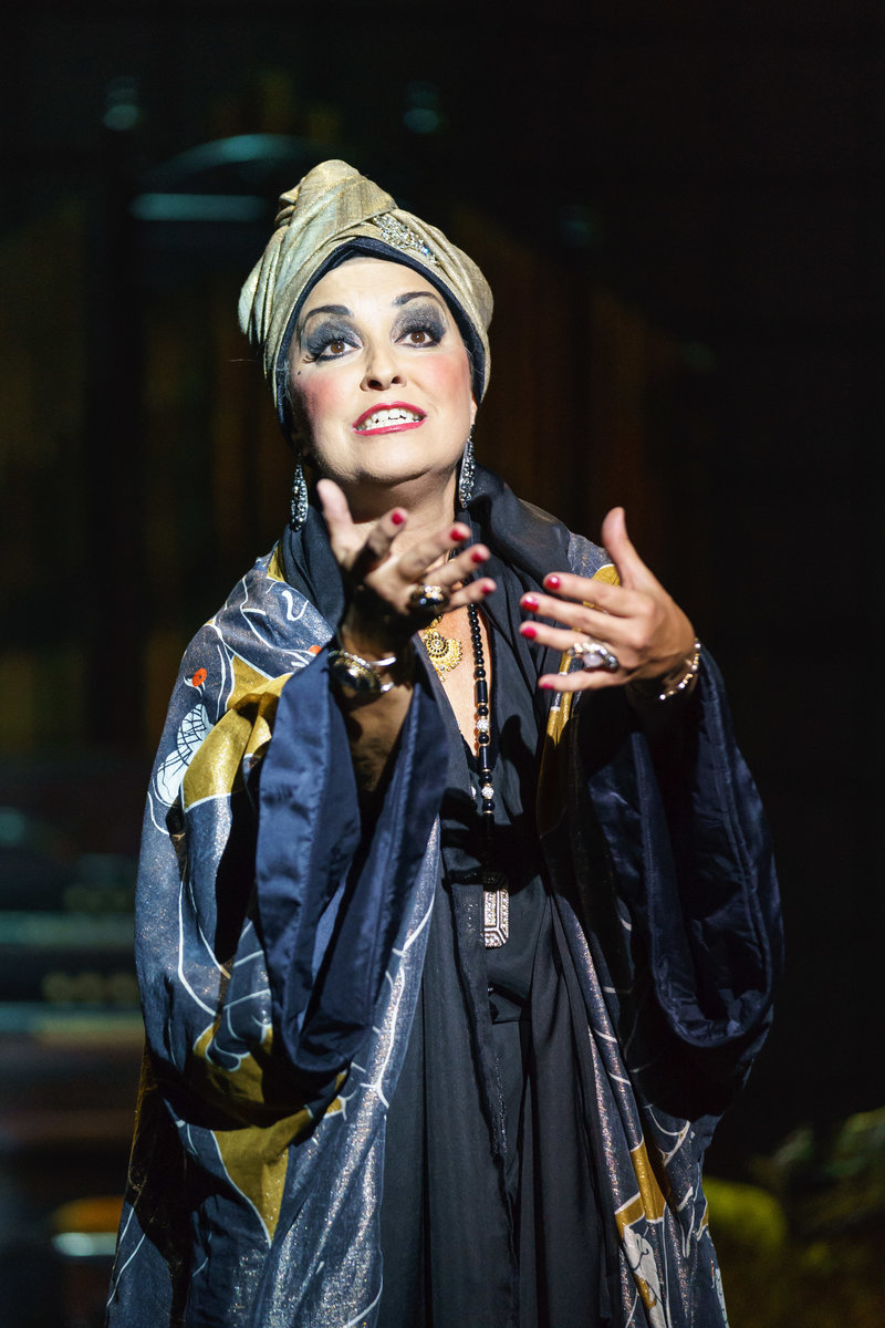 Ria Jones 'Norma Desmond, Photo Manuel Harlan