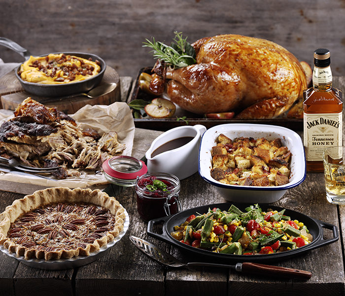 Give your Christmas dinner a whiskey twist with Jack Daniel's!