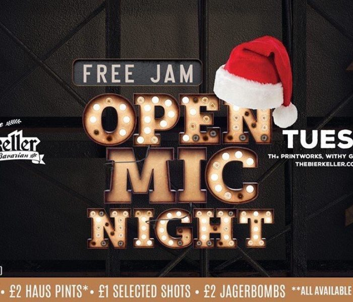 Open Mic Night Every Tuesday at Bierkeller