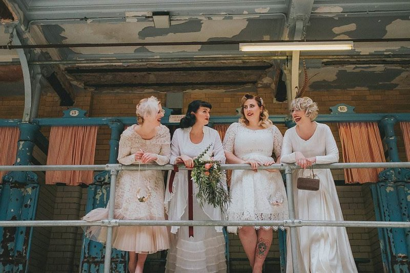 The Magpie Wedding Fair at Victoria Baths in Manchester. Photo Kate McCarthy
