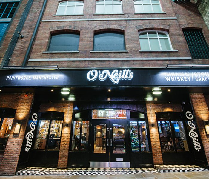 Manchester's Printworks welcomes a brand new O'Neill's bar