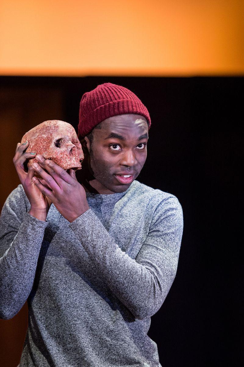 Paapa Essiedu as Hamlet. Photo: RSC.