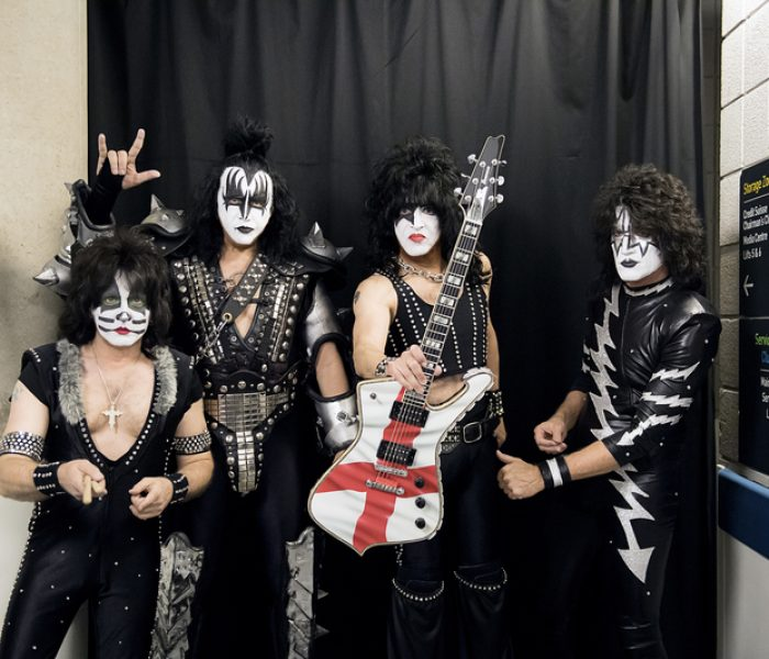 Rock band KISS donate auction items for Manchester Children's Hospital