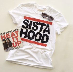 Sista Hood T-shirt in White
