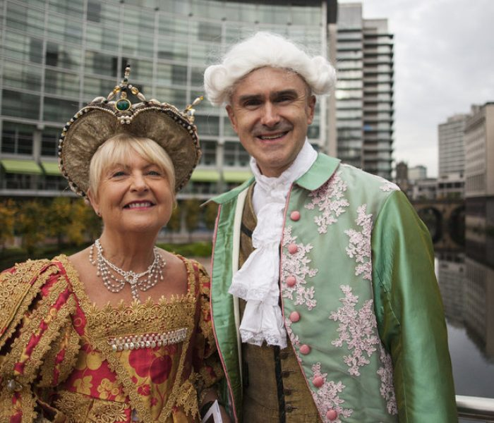 Dress up in Royal Exchange costumes to recreate painting and fight cancer