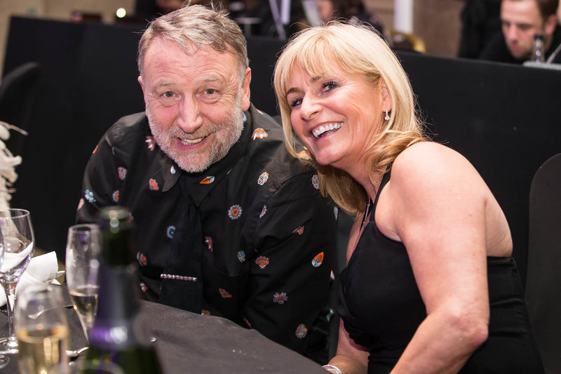 Peter Hook at the NSPCC Childline Ball Manchester. Photo by Sasha Ray