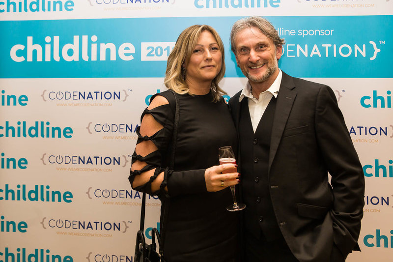 Carl Fogarty at the NSPCC Childline Ball Manchester. Photo by Sasha Ray