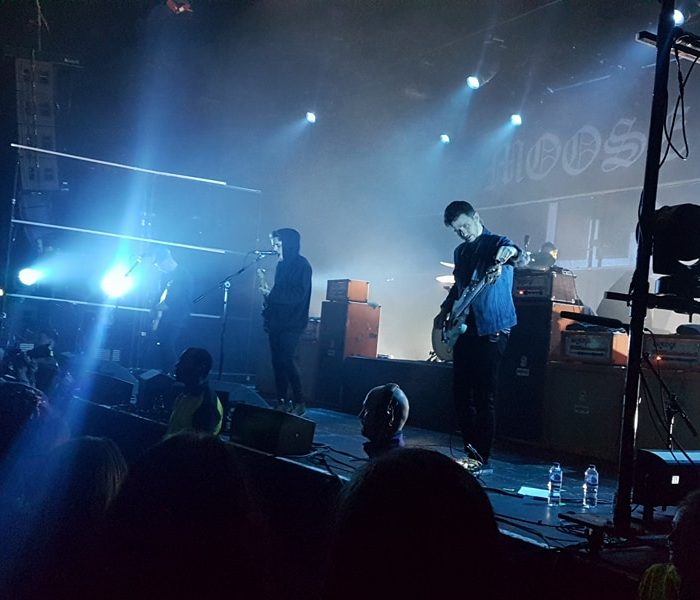 REVIEW: Crowd surfing, moshing and a lot of fun at Moose Blood!