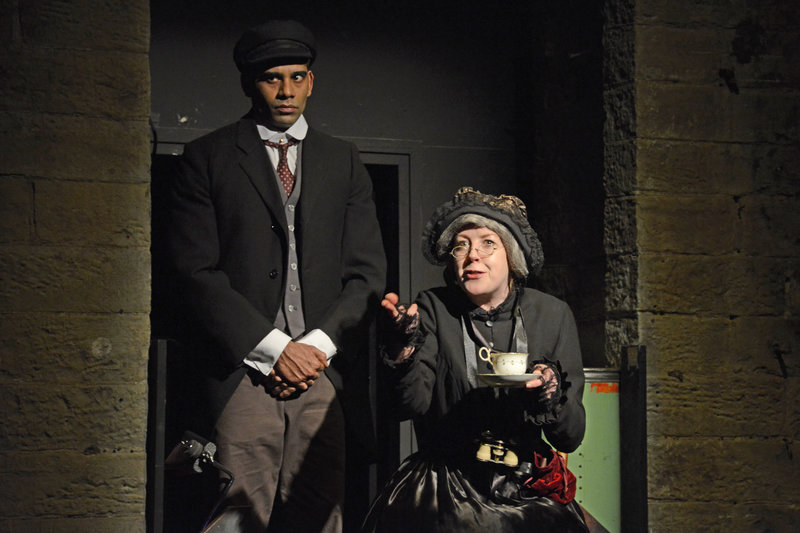 Mrs Sparsit and Bitzer (Darren Kuppan)