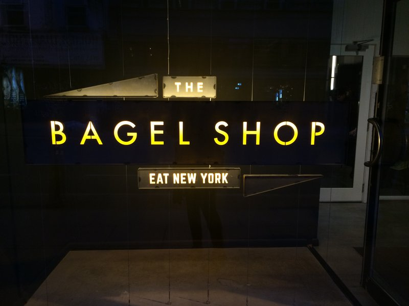 Life Through The Lens, Sigma exhibition at Eat New York Bagel Shop