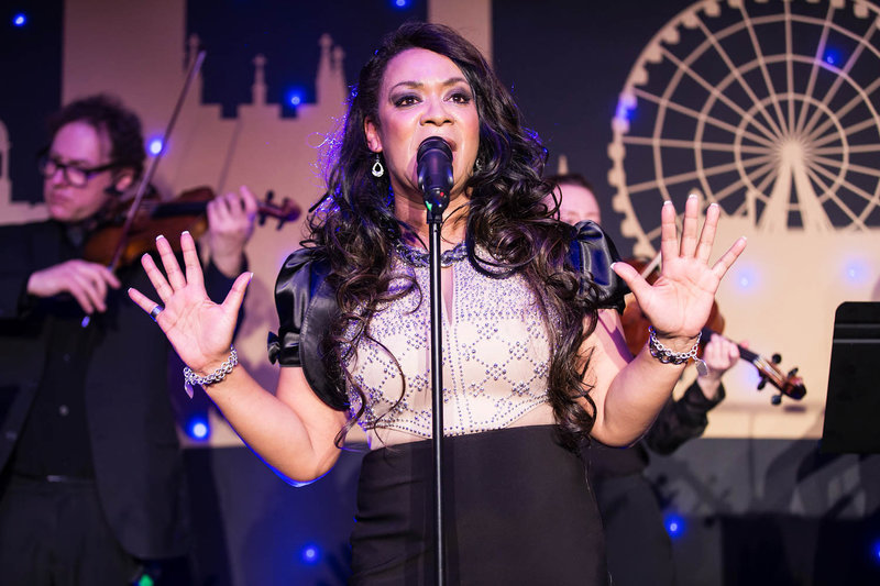 Rowetta at the NSPCC Childline Ball Manchester. Photo by Sasha Ray