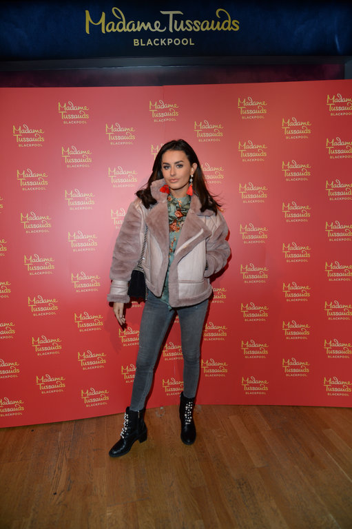 Love Island's Amber Davies at the launch
