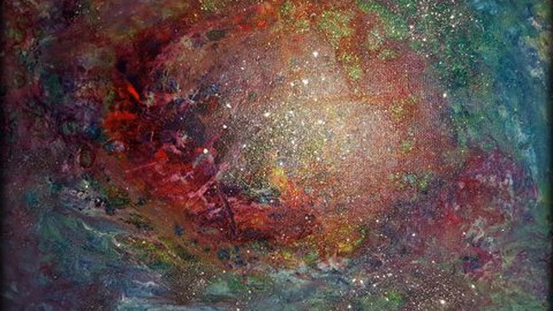 Art work by Zoë Watson – star sign constellation – Cancer