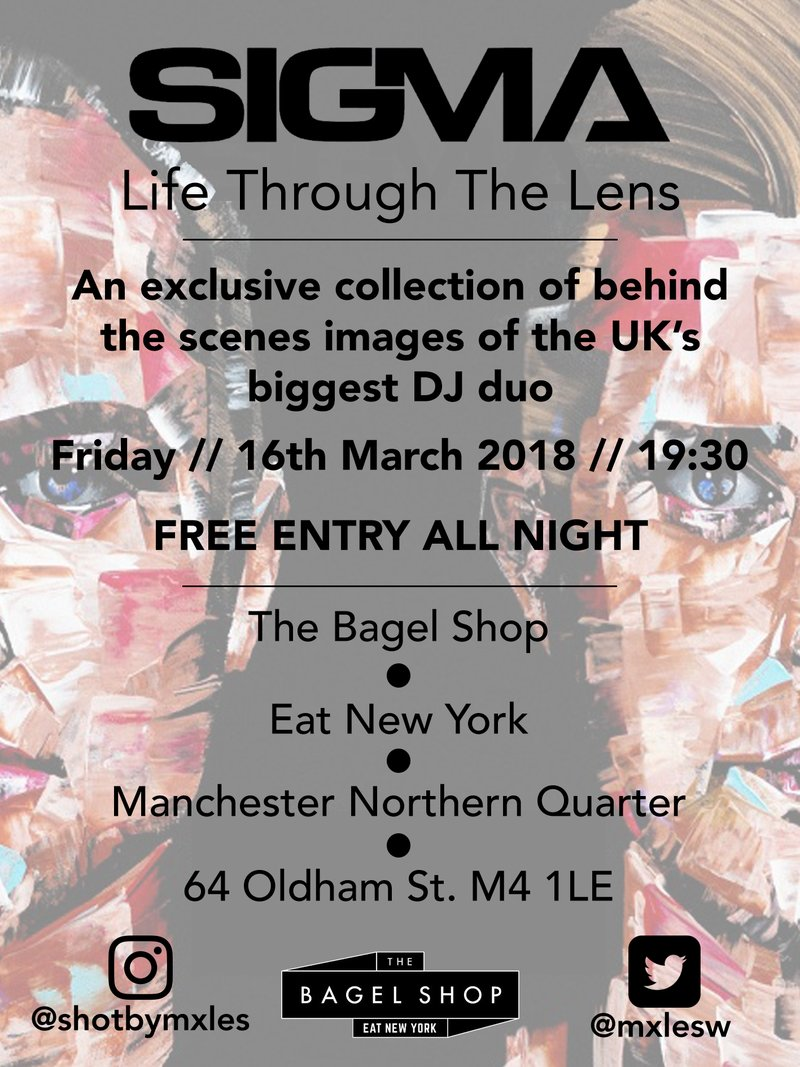 Life Through The Lens, Sigma one night only exhibition