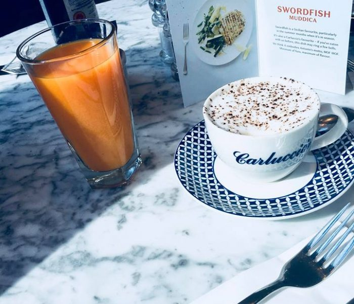 RISE AND SHINE FOR CARLUCCIO'S NEW BREAKFAST MENU