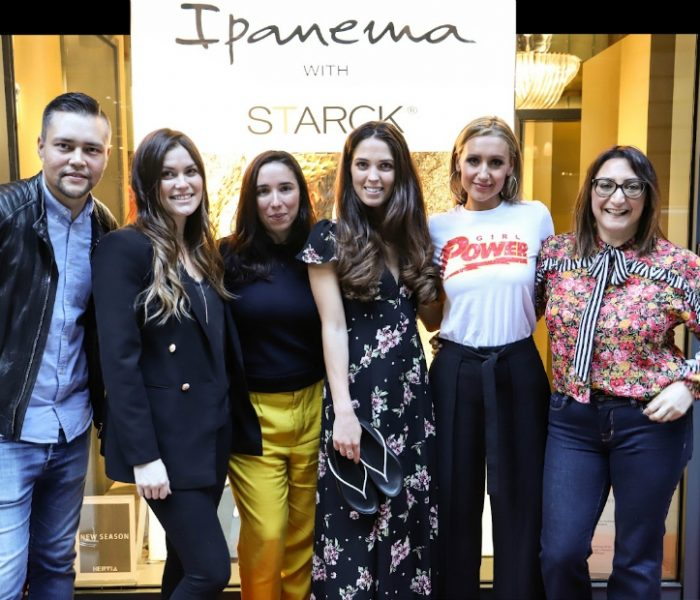 Cath Tyldesley Models Girl Power at Hervia Manchester's Ipanema with Starck Showcase