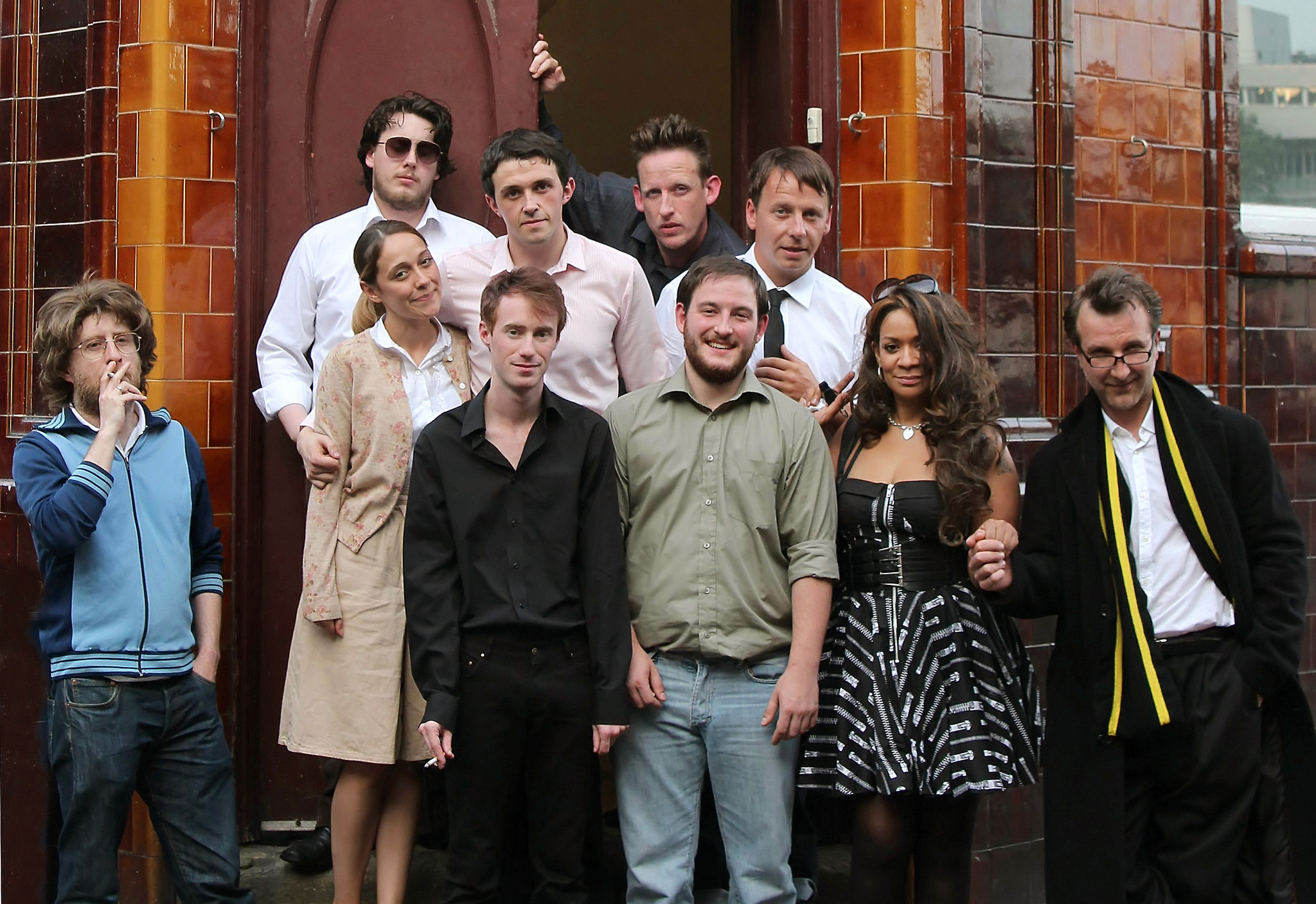 New Dawn Fades original cast with Happy Mondays singer Rowetta