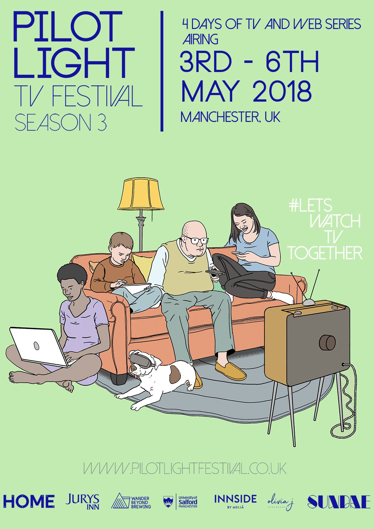 Pilot Light TV Festival 3-6 May 2018