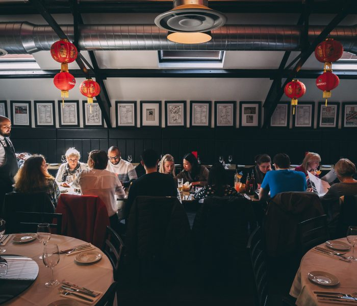 'The Best Chinese restaurant in the UK'- Mr Lau's