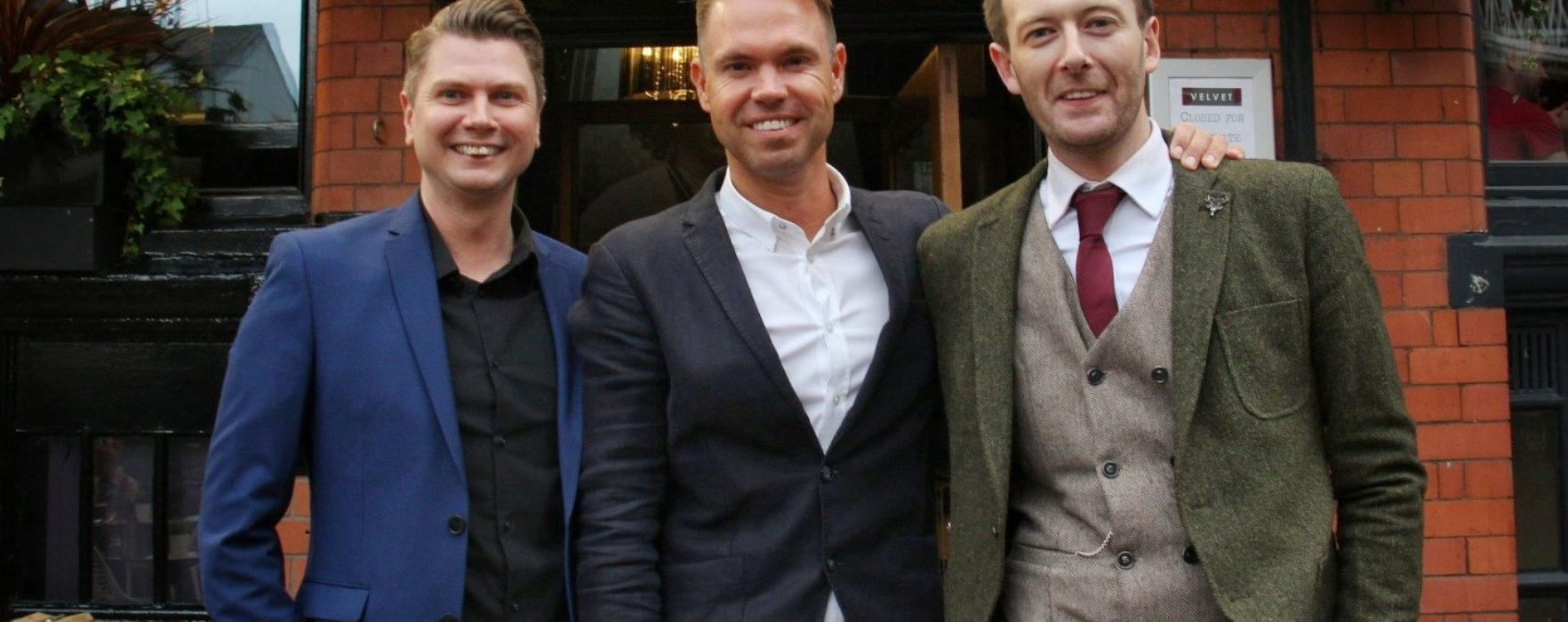 Manchester's finest flock to Canal Street for Launch of Mr White's English Chophouse