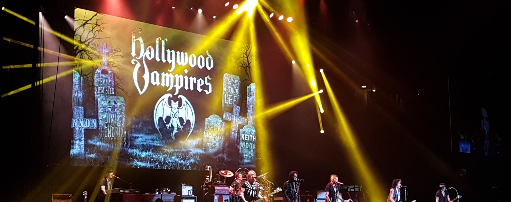 Hollywood Vampires sets the stakes high for Manchester 'Blood Suckers'