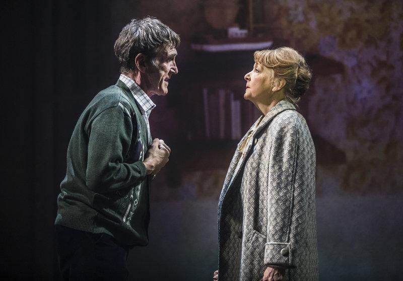 Jackie White (Joe McGann) and Peggy White (Charlie Hardwick)