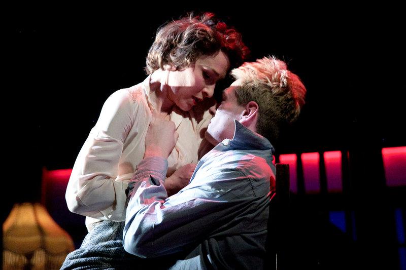 Cecily (Helen Bradbury) and Bruce (San Frenchum)