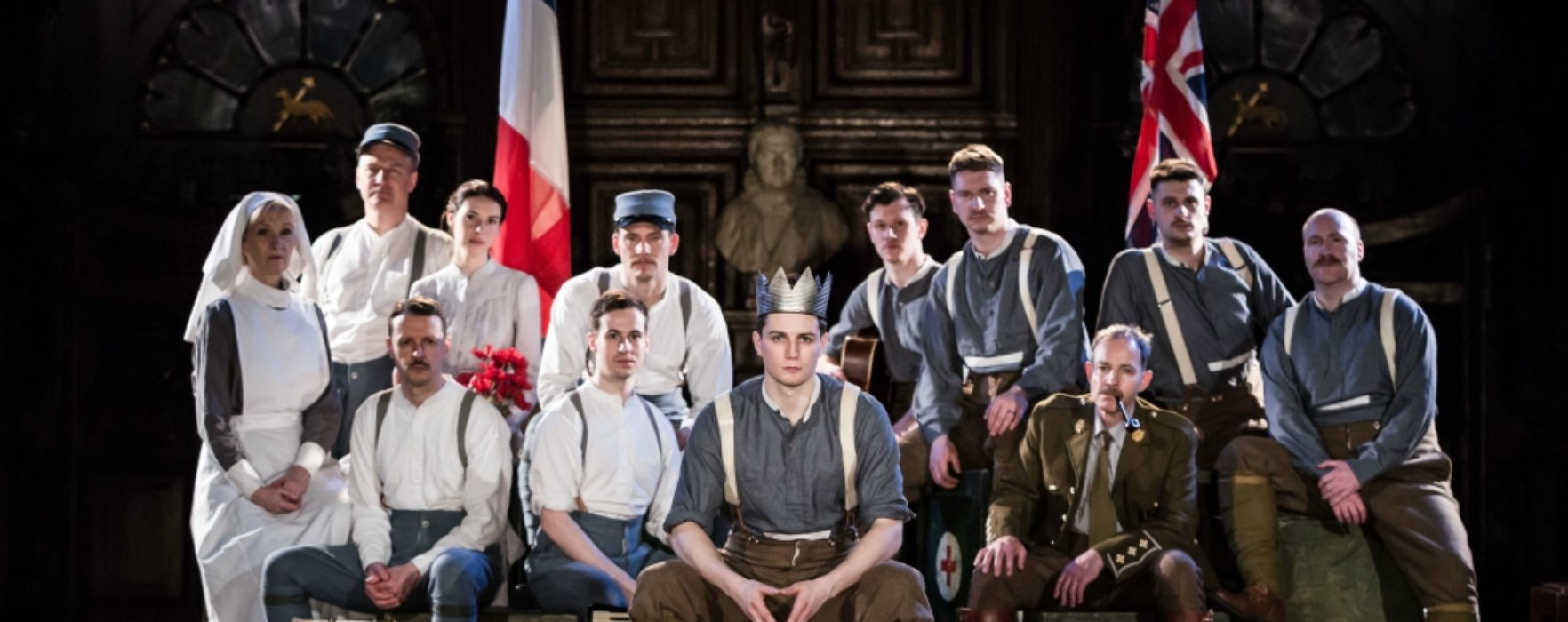 PREVIEW: Antic Disposition's Henry V steps back in time at Manchester Cathedral for its fourth year