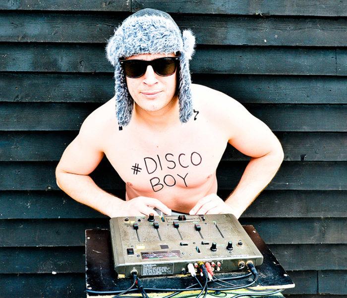 Disco Boy starts a petrol pump body pump class at Sainsbury's Salford petrol station