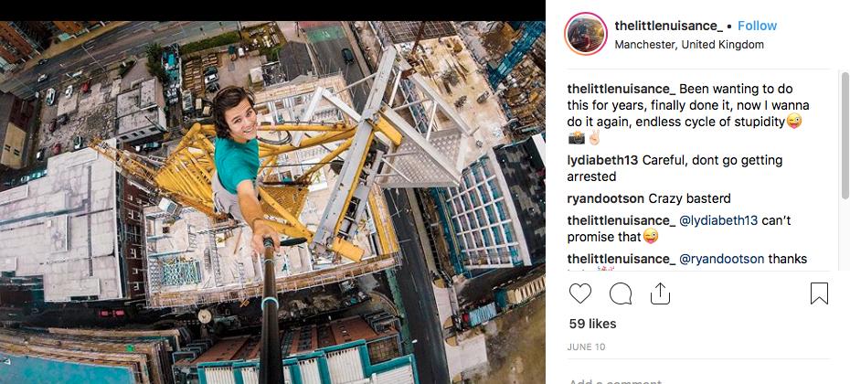 Pic taken from @thelittlenuisance Instagram
